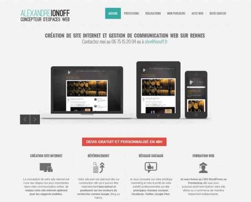 Alexandre Ionoff Conception Web