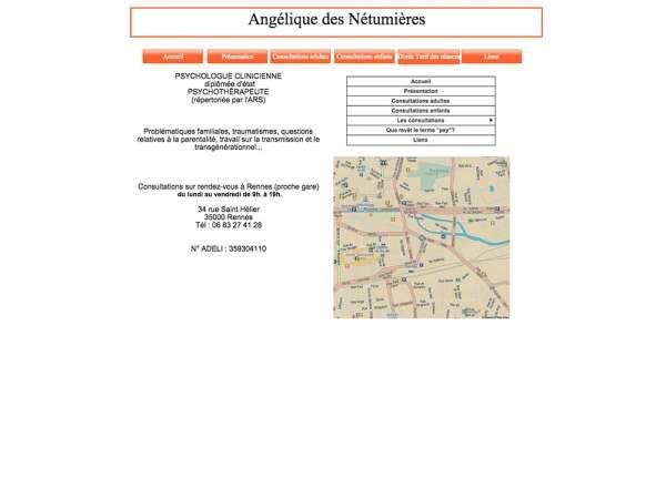 Angélique des Nétumières - ancien site