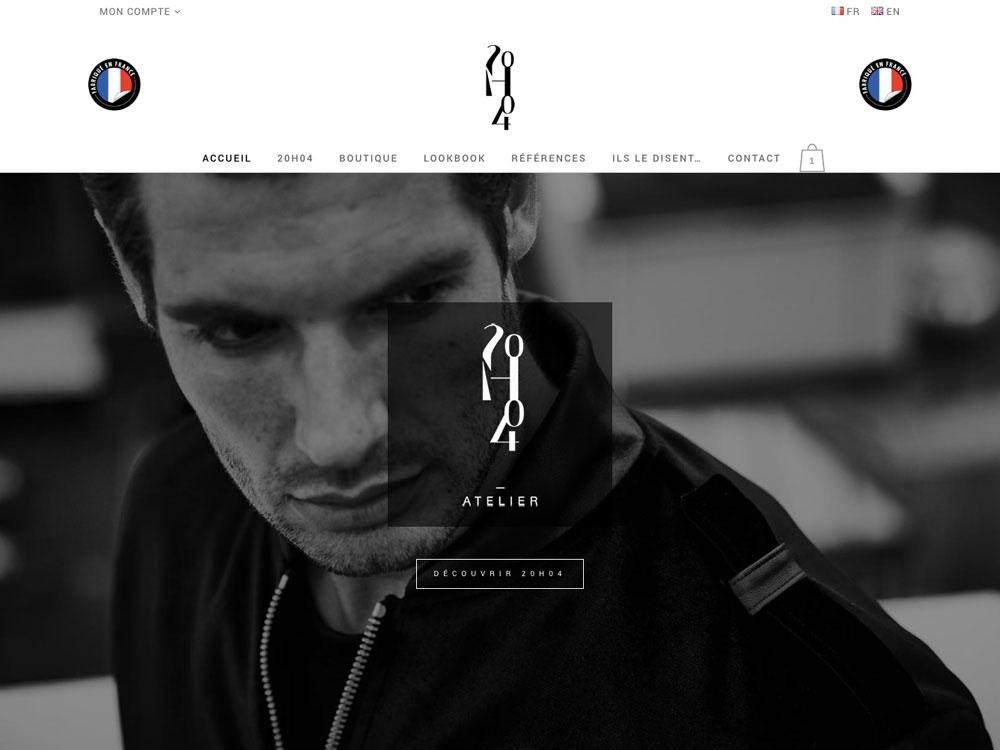 20h04 - Sportswear luxe masculin