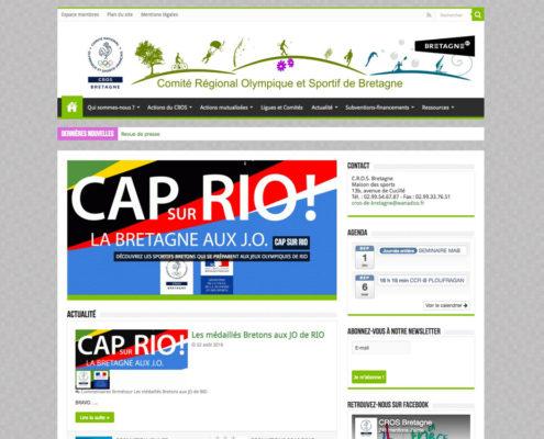 CROS Bretagne - site officiel du sport en Bretagne