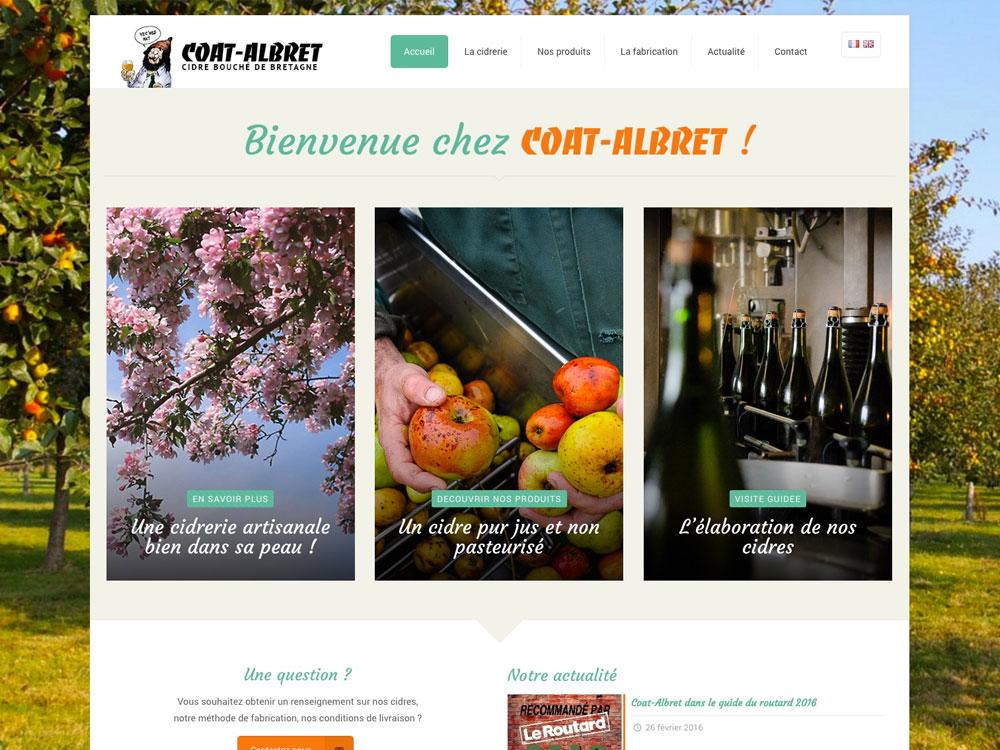 Coat-Albret - Cidre artisanal de Bretagne