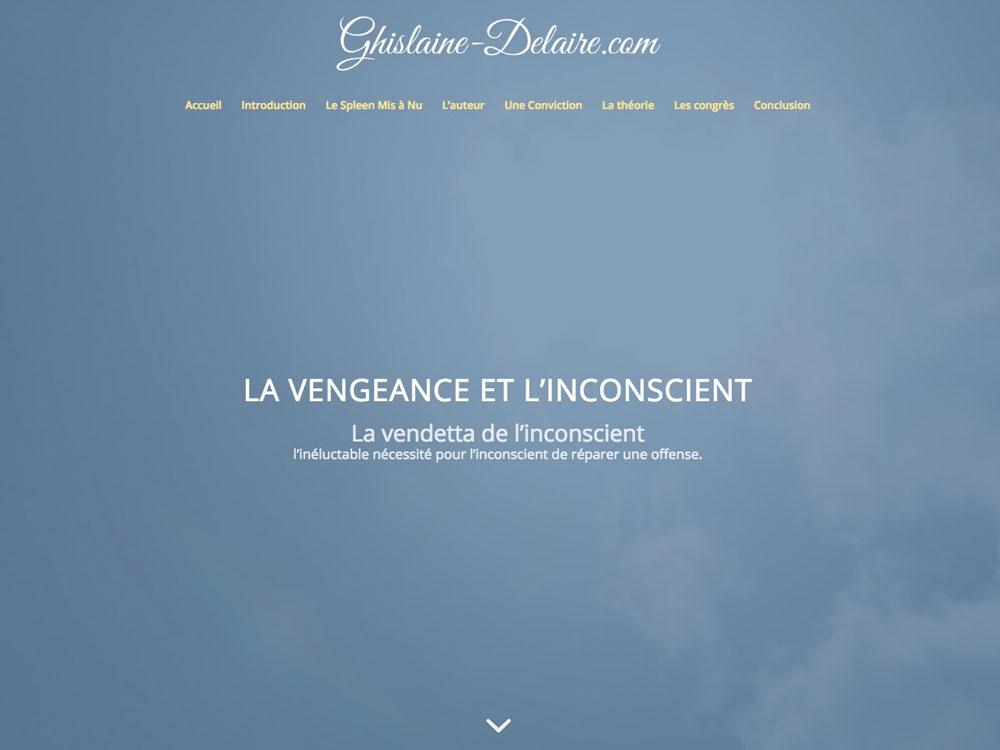 Ghislaine Delaire - La vengeance et l'inconscient