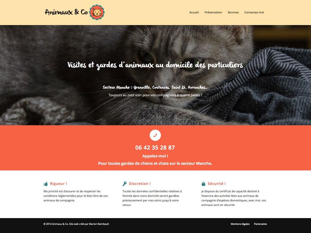 Animaux & Co - Visites et gardes d'animaux