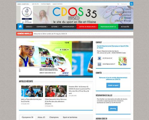 CDOS 35 - site officiel du sport en Ille-et-Vilaine