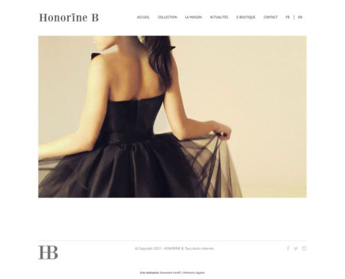 Honorine B - Haute couture