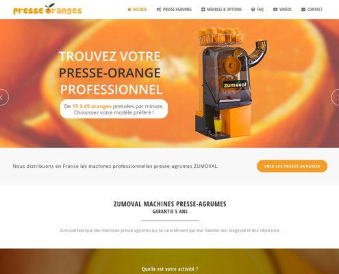 Presse Oranges - Distributeur français de machines presse agrume professionnelles