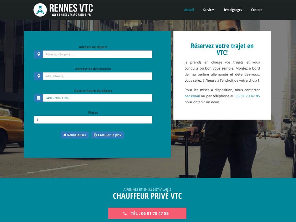 Rennes VTC - Chauffeur privé à Rennes Métropole
