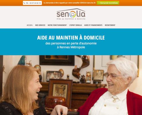 Senolia - Aide au maintien à domicile à Rennes Métropole