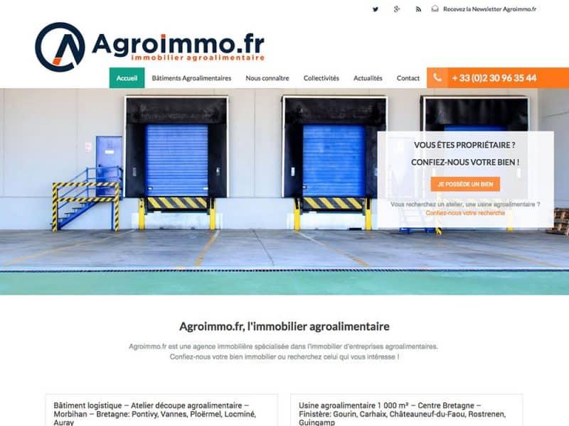 Site web Agroimmo