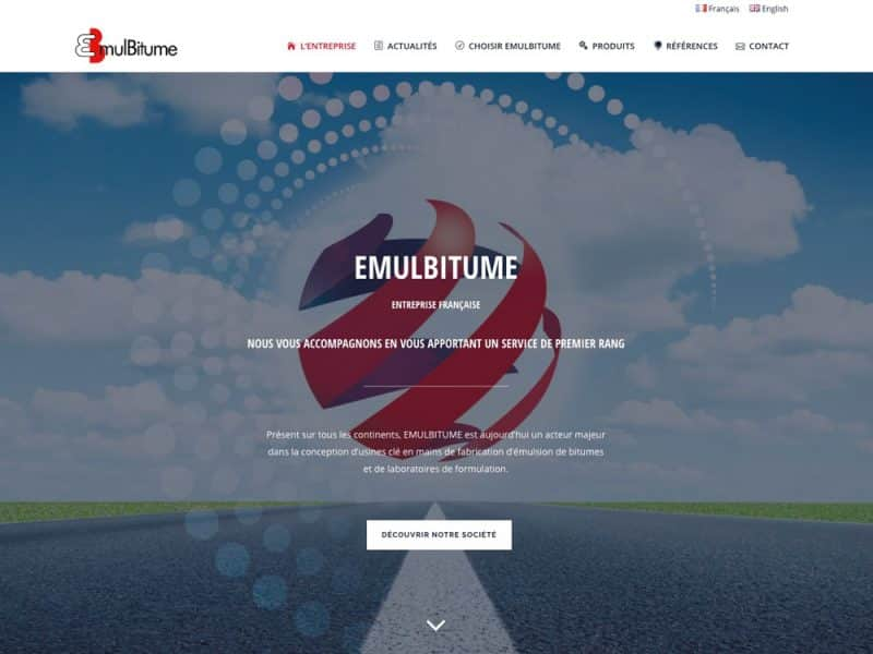 Site web Emulbitume