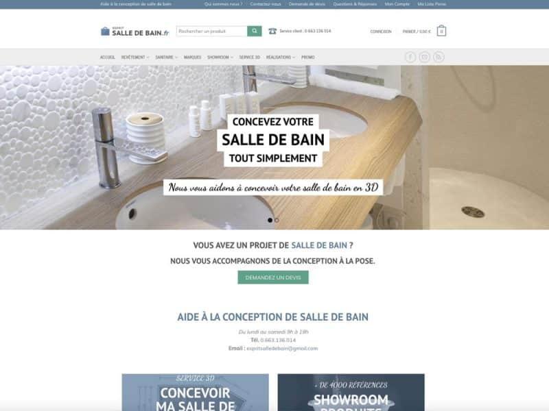 Site web Esprit Salle de bain