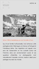 Site web Nicolas Vilella - vue mobile 2