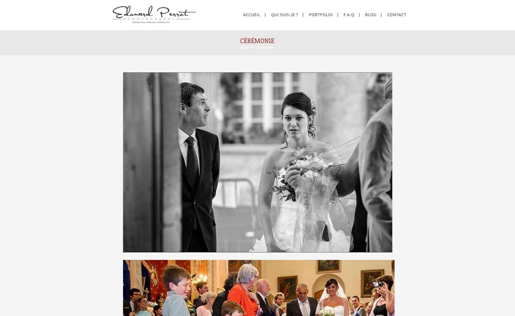 Site web Provence Photos - vue desktop 2