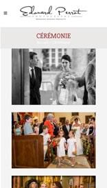Site web Provence Photos - vue mobile 2