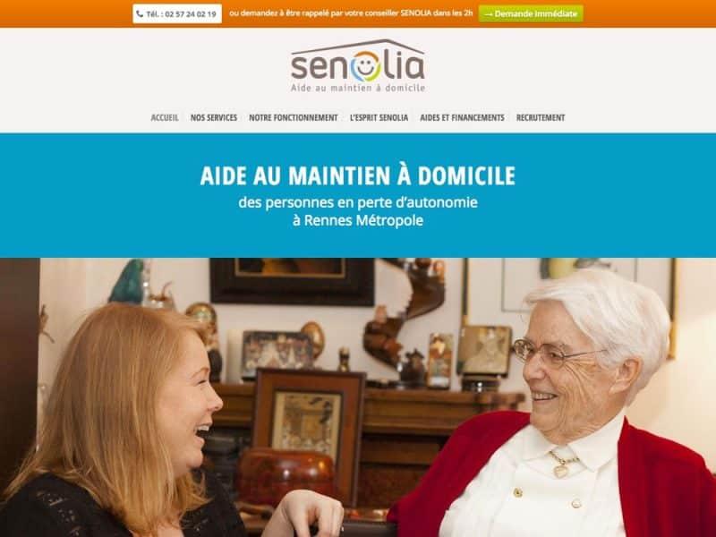 Site web Senolia