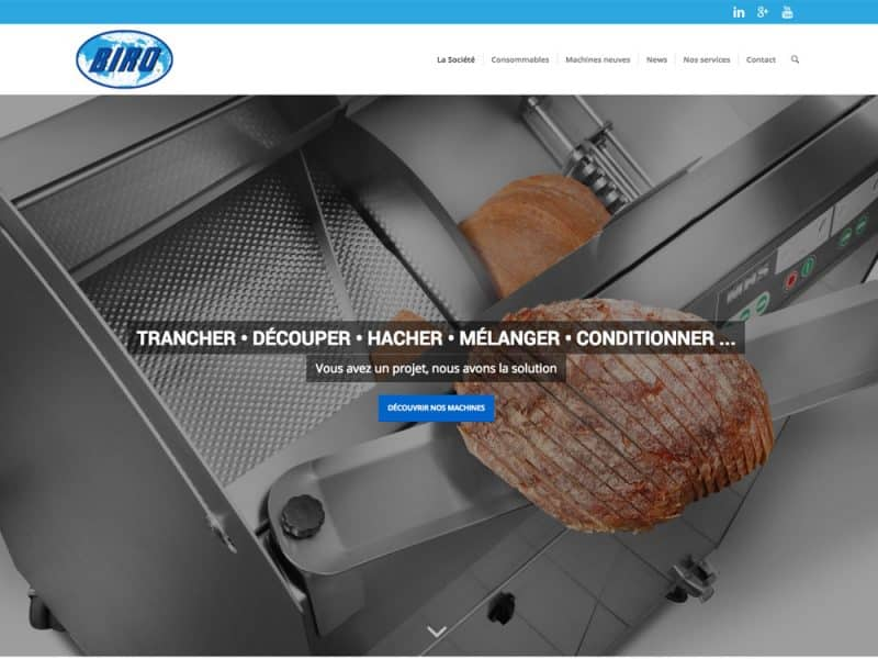 Site web Biro