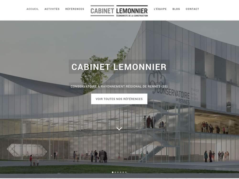 Site web Cabinet Lemmonier