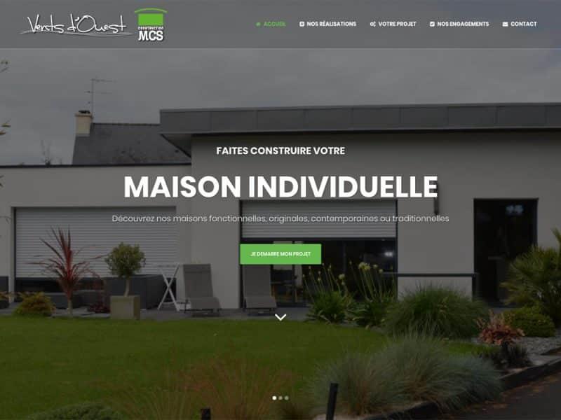 Site web MCS Vents d'Ouest