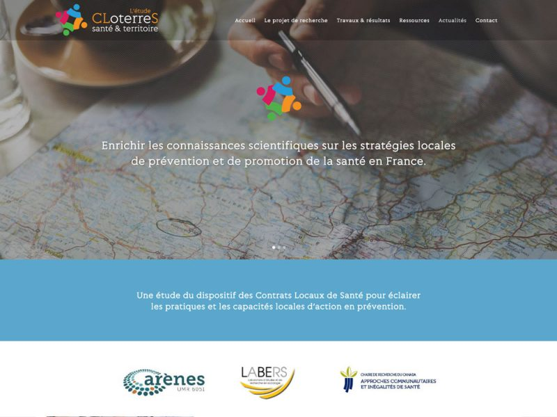 Site web CLoterreS