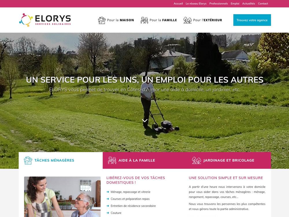 Site web Elorys