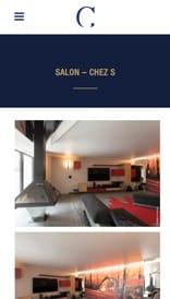 Studio Crystelle Terrasson - site web mobile