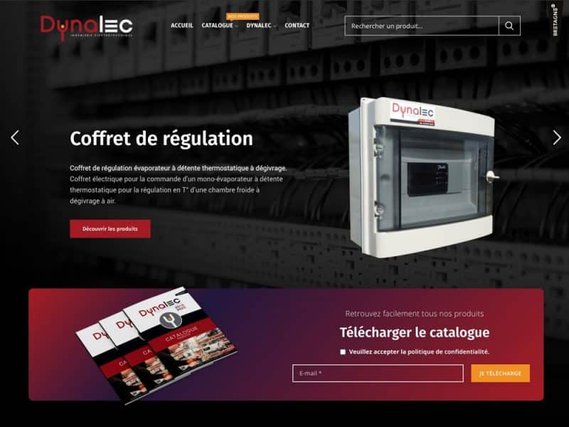 Dynalec - site web