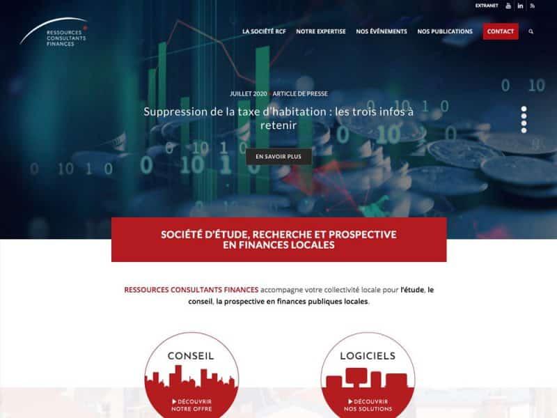 Ressources Consultants Finances - site web